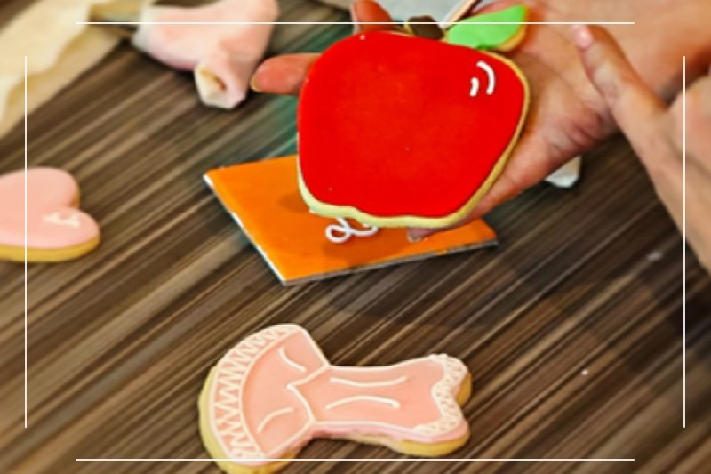 How to Make and Ice Sugar Cookies – Apple and Ballet Cookies