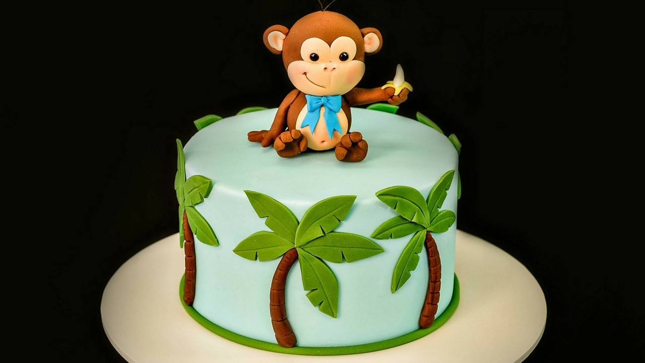 How To Make A Cheeky Monkey Cake Topper Caker School
