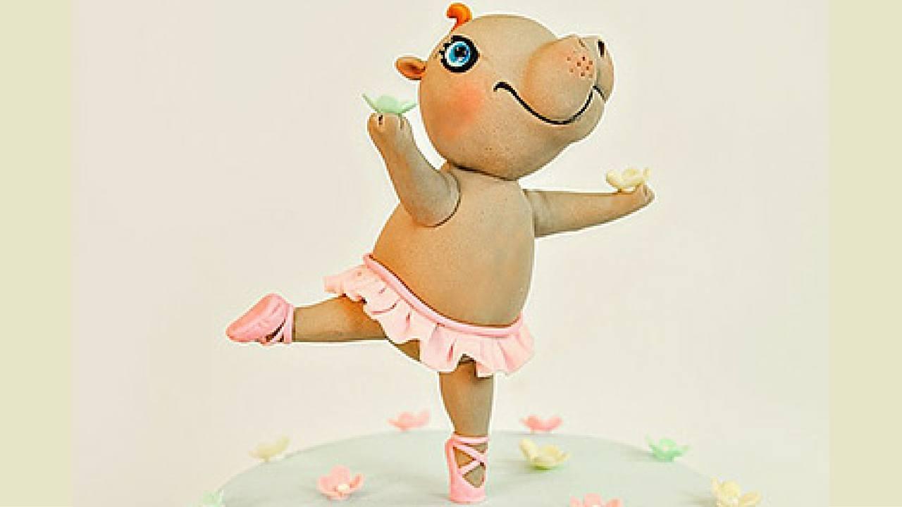 Henrietta hippo cake topper tutorial