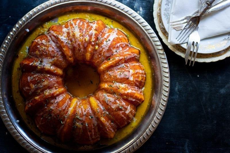 Cointreau And Rosemary Cake Recipe Caker School