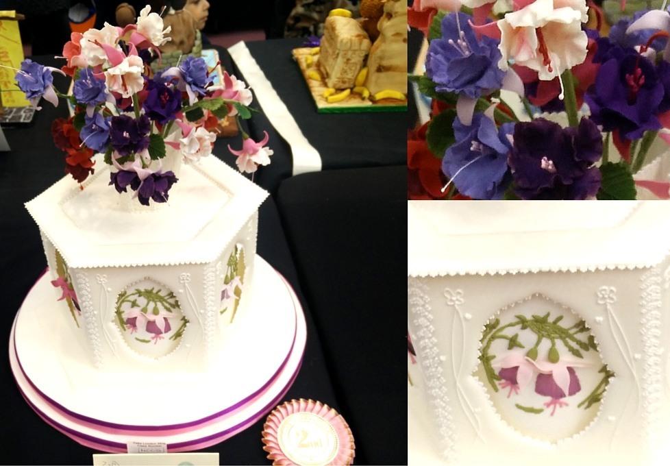 Kathy Bryant Bronze 2nd Class N: Decorated Celebration Cake