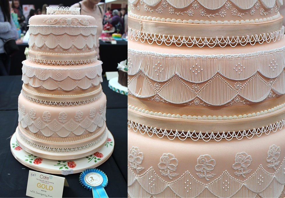 Wedding Cake Design School : Image Gallery of Class L A Wedding Cake of Three or More Tiers