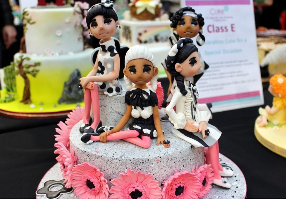 Karen Rowley 1st Class E Celebration Cake for a Special Occasion