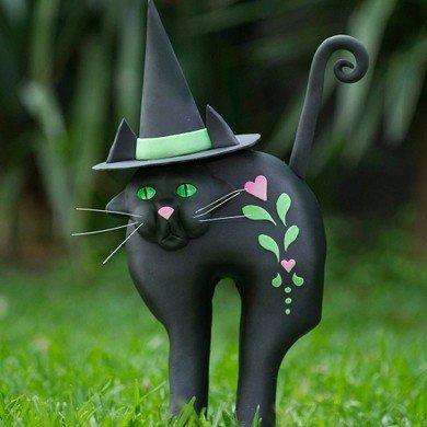 Halloween Cat Cake Tutorial