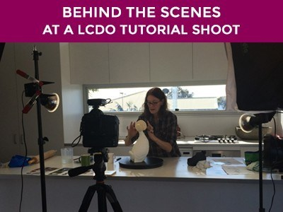 Behind The Scenes of an LCDO Tutorial shoot