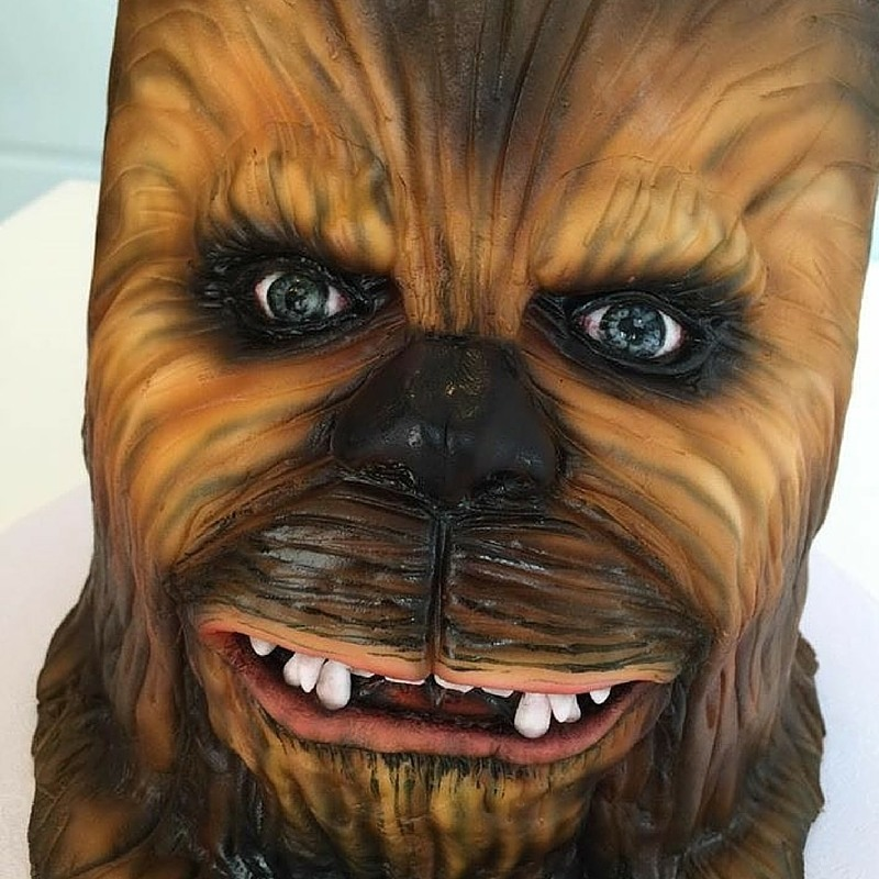 chewbacca cake tutorial