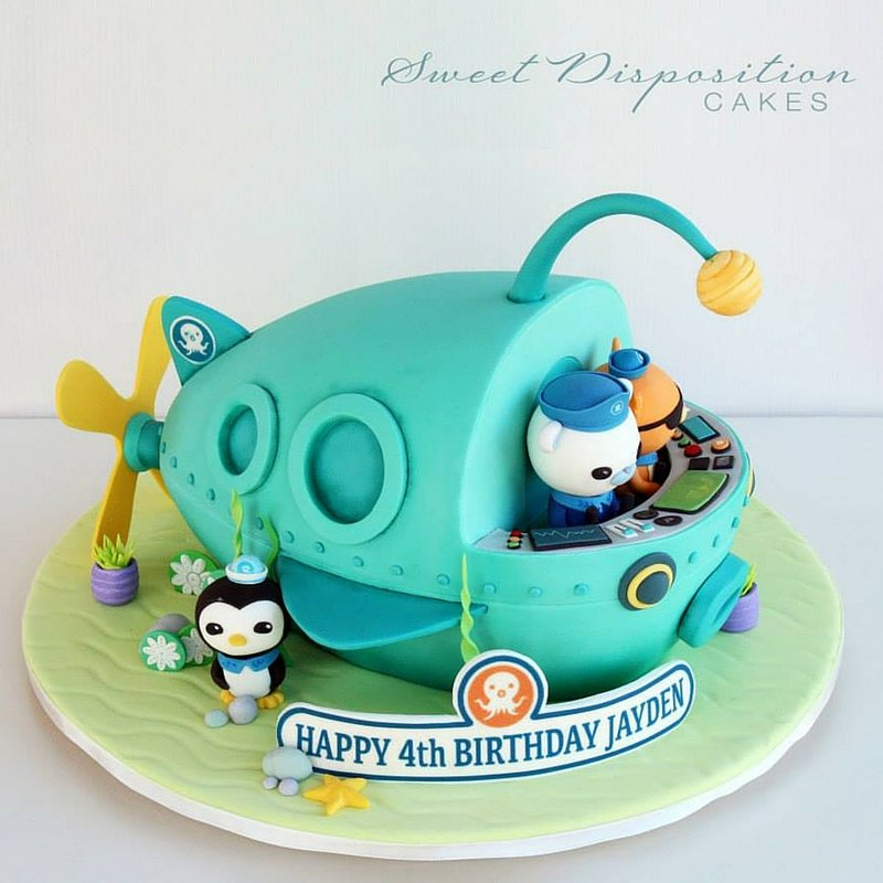 Submarine Lampion Fish Cake