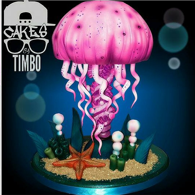 Jelly Fish Cake by Timbo Sullivan