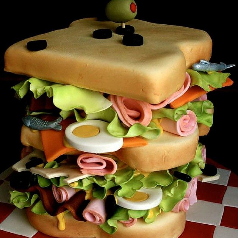 Junkfood Sandwich