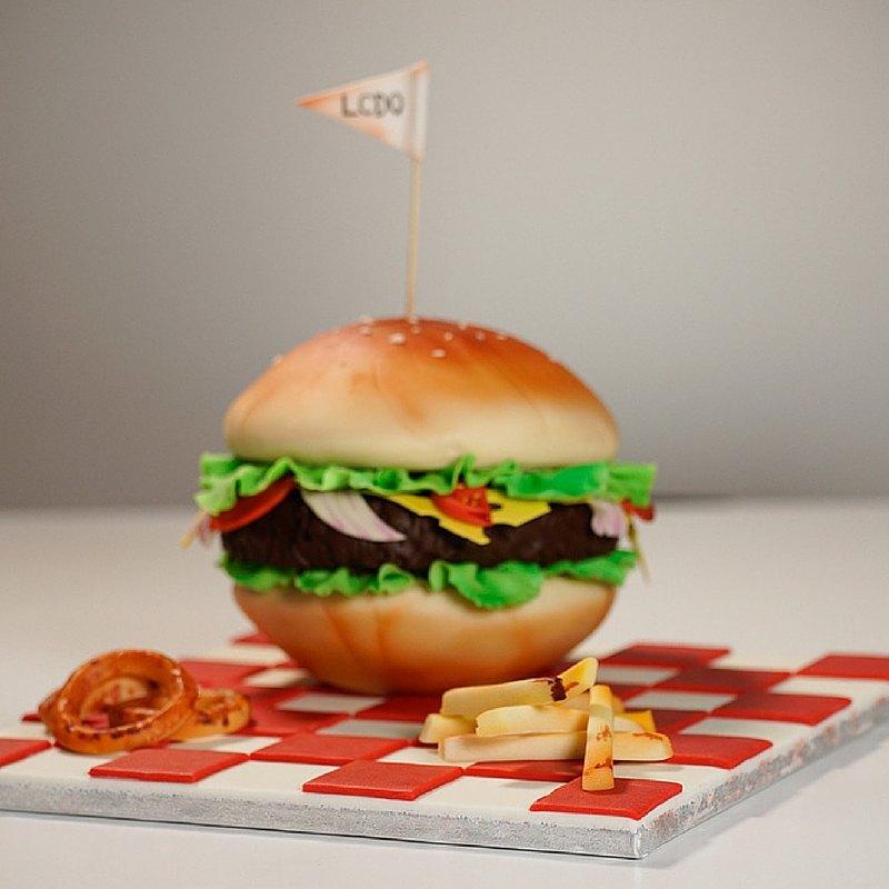 Junkfood Hamburger LCDO