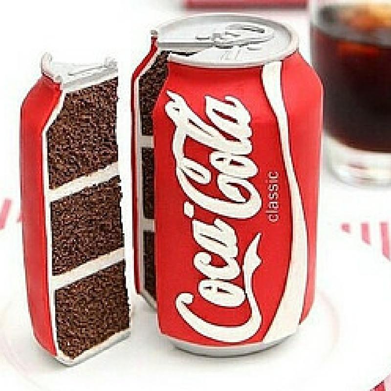 Junkfood Coca Cola Cake