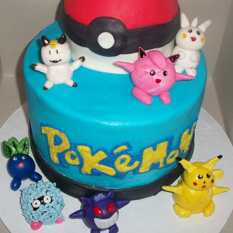 pokemon go cakes