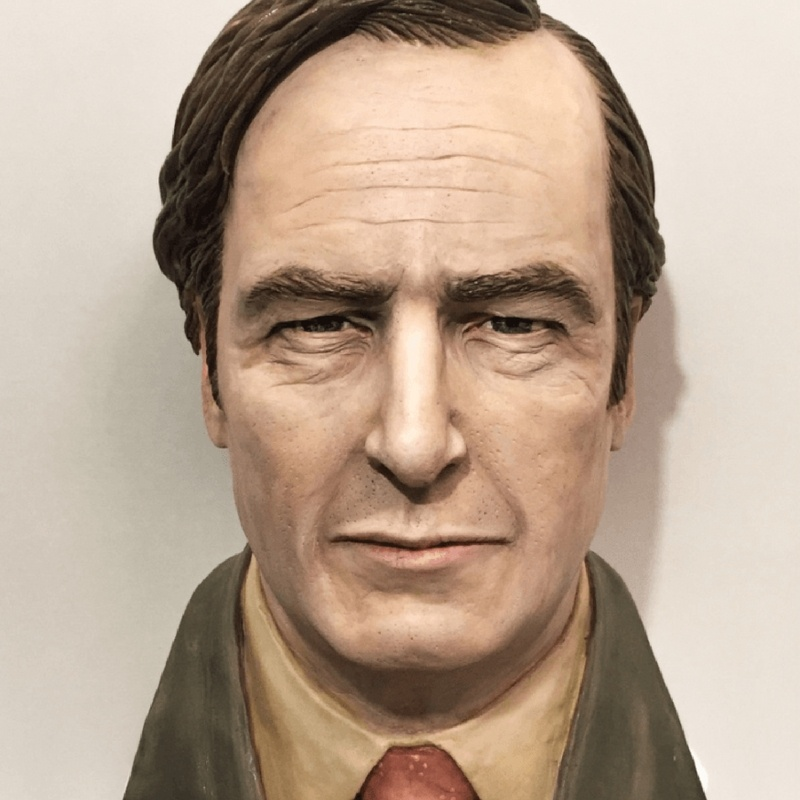 Better Call Saul bust cake
