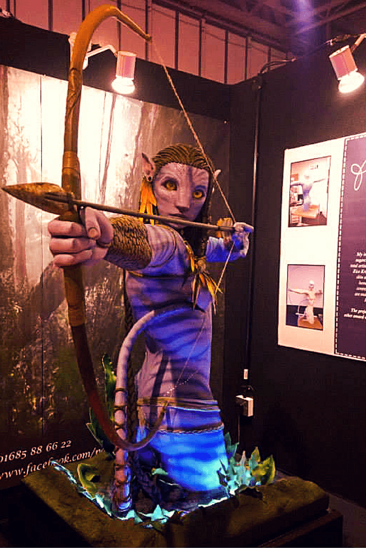 Avatar Cake by Emma Jayne at Cake International