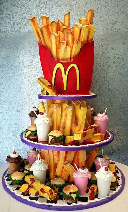 McDonald's Junk Food Cake