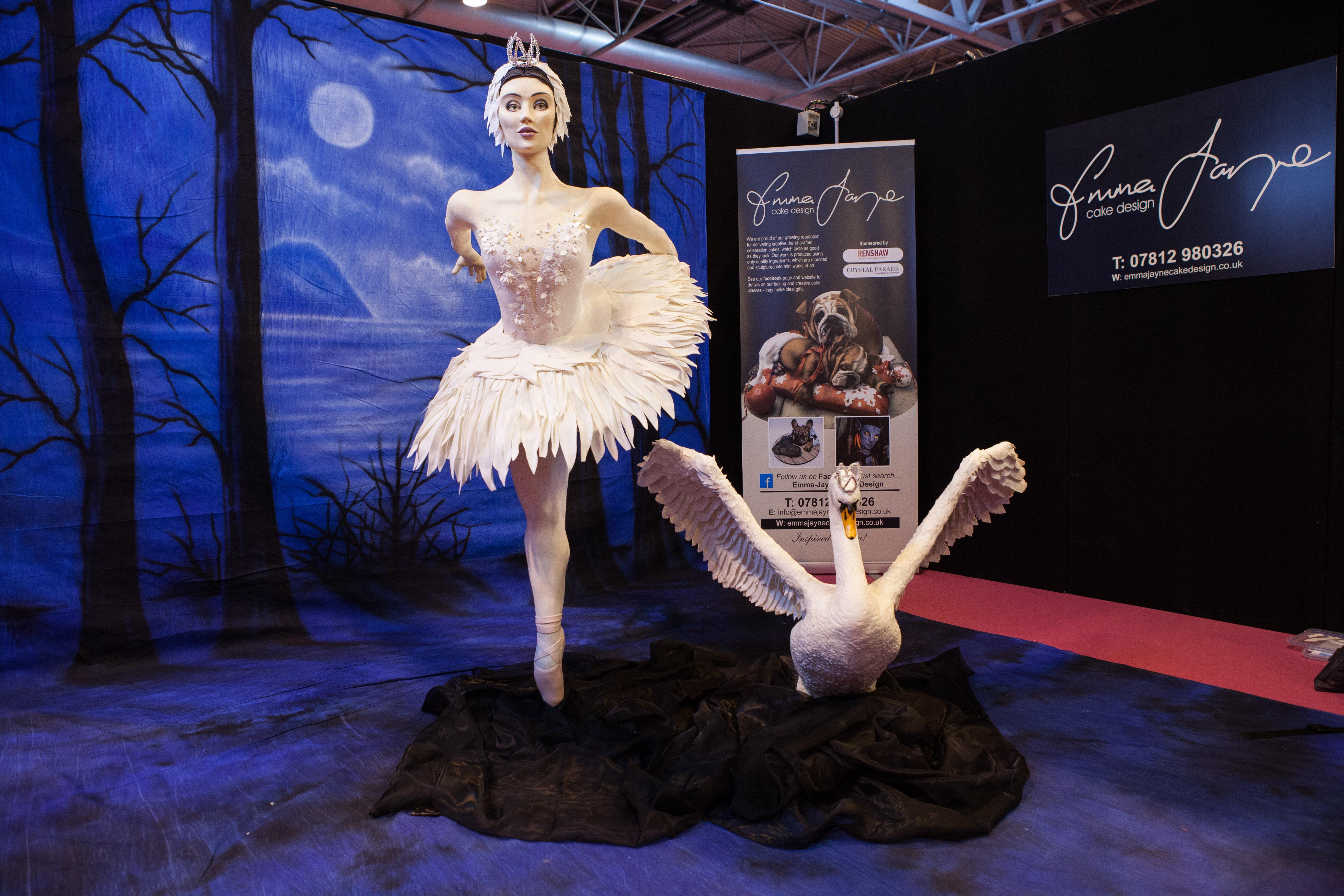 Swan Lake Ballerina Cake by Emma Jayne 1