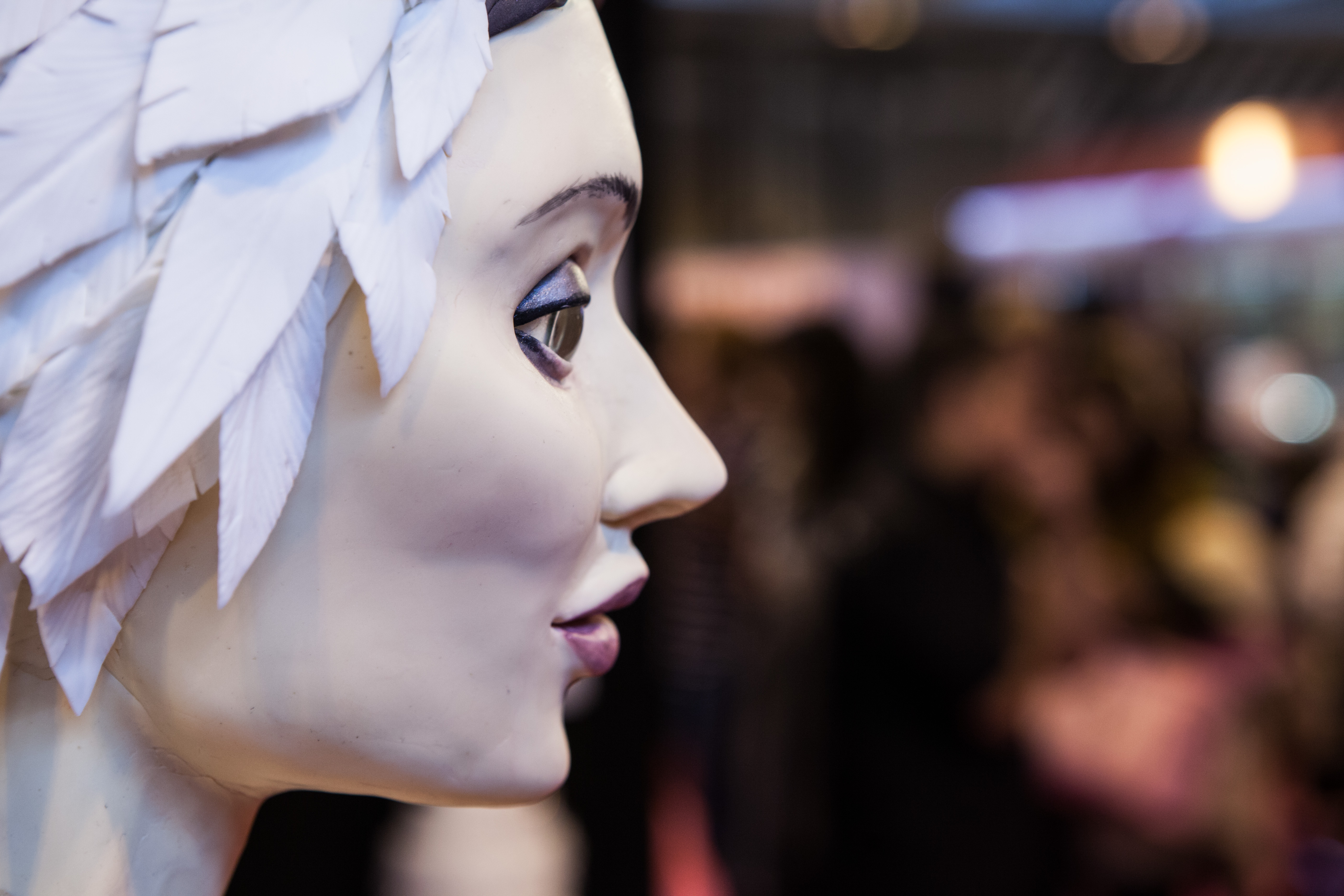 Swan Lake Cake Ballerina Face
