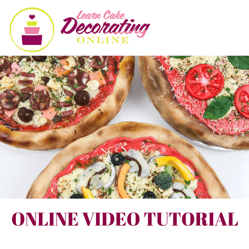 Molly Robbins Pizza Tutorial for Cakerschool