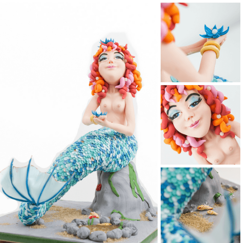Myrtle the Mermaid Cake by Rhu Strand