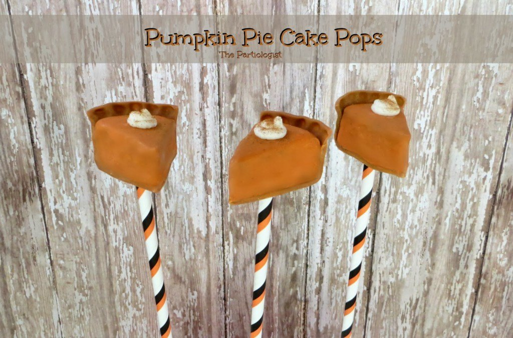 Pumpkin Pie Cake Pops
