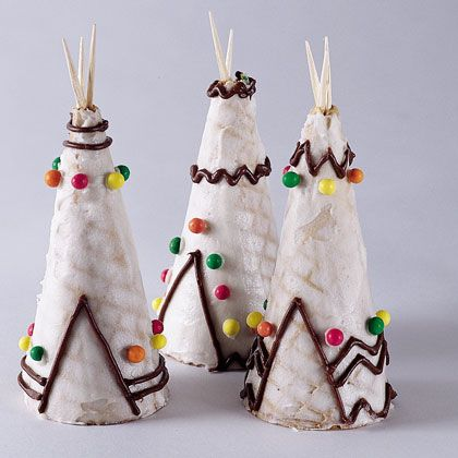 Ice Cream Cone Wigwams